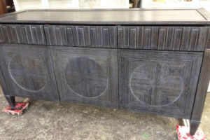 Custom rift oak cerused buffet