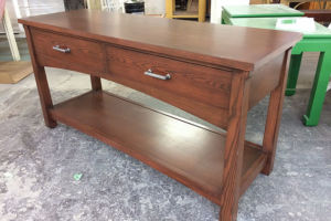Wood finish buffet